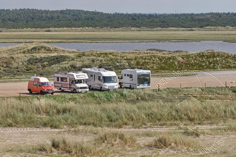 Ausblick von der Düne in  Nymandegab