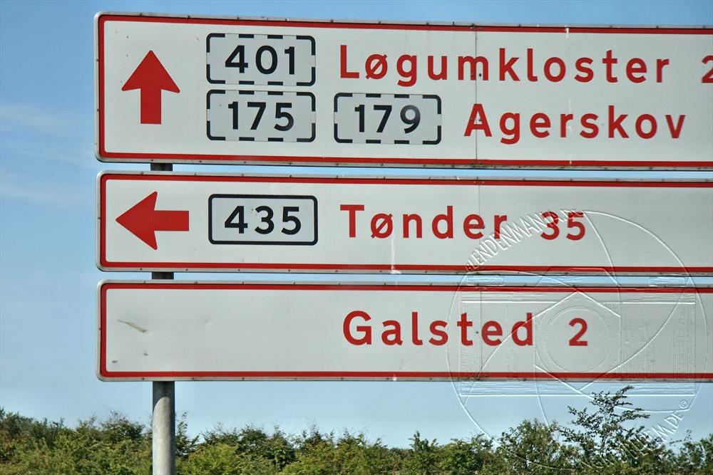 Die Bundesstraße 435 - das ist Dieters Segelnummer